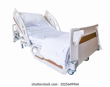 Automatic patient bed, medical equipment with clipping path