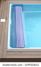 Automatic Swimming Pool Plastic Cover in Roll