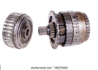 Automatic transmission automotive roller bearings and gears