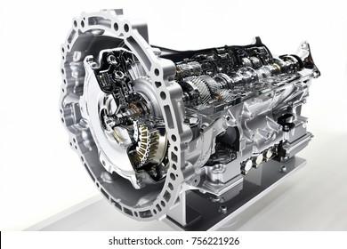 Automatic transmission cut model