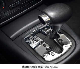 Automatic transmission gear shift, manual mode