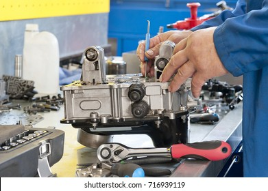 Automatic transmission  repair (fragment)