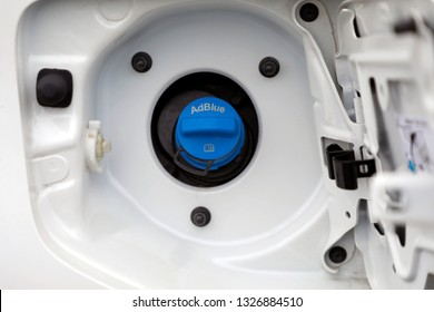 automobile adblue fuel tank cap
