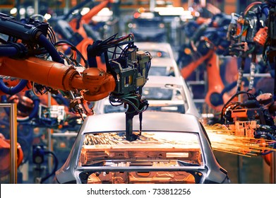 Automobile assembly line production