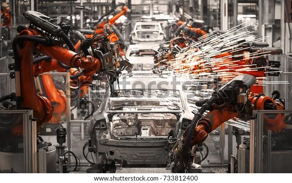 Produktion von Automobilmontageanlagen