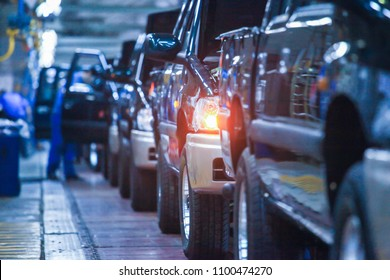 Automobile manufacturing line