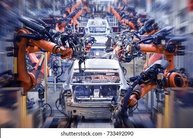 Automobile production line