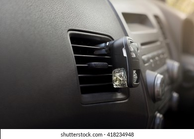 Automotive air conditioning in the car with gradient filter.