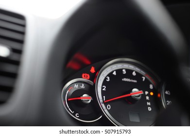 Automotive background.Blur background.