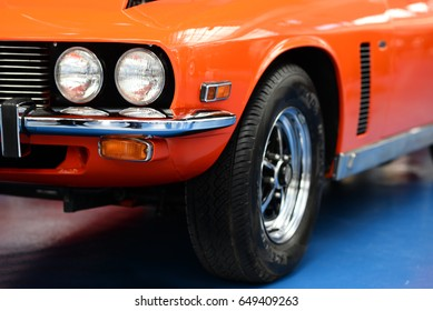 automotive backround - muscle car
