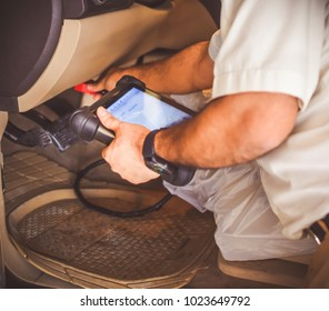 A Automotive Electronic Diagnostic equipment using to check the Errors of a Car.