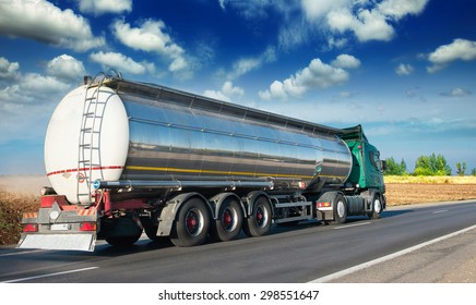Automotive fuel tankers shipping fuel.