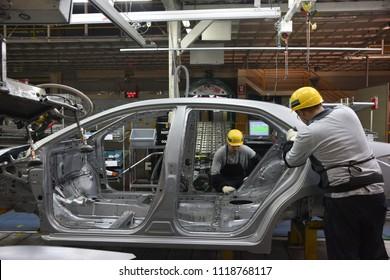 Automotive industry. SAKARYA TURKEY 12.11.2014