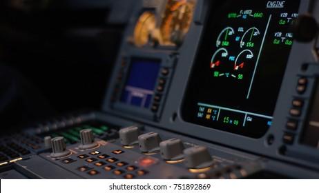 Airplane Instrument Panel Images, Stock Photos & Vectors | Shutterstock