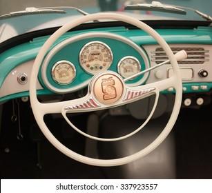 Classic Car Interior Images Stock Photos Vectors Shutterstock
