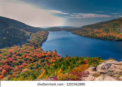 Autumn in Acadia National Park, Maine, USA