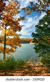 Autumn Afternoon on Table Rock Lake