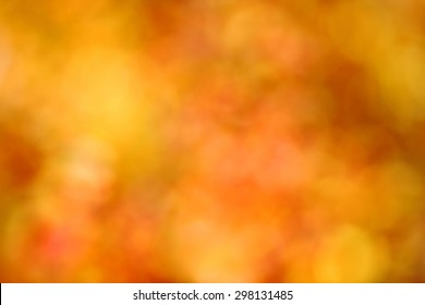 autumn background, bokeh effect