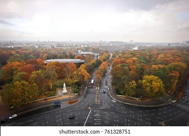 Autumn Berlin from the Victory Column