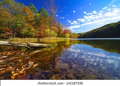 Autumn at Brown County State Park, Indiana