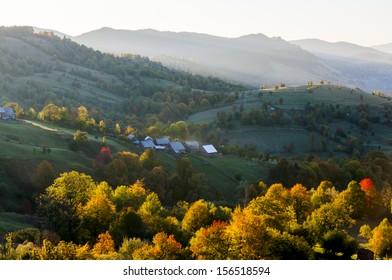 Autumn in Bukovina
