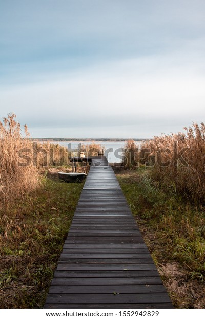 Autumn by the Jezioro Siemianówka.