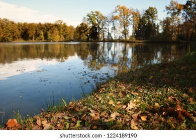 Autumn by the lake. Slivnica pri Mariboru, Slovenia