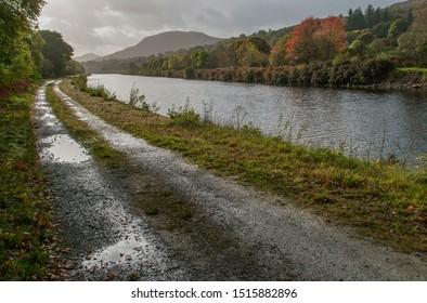 Autumn, Caledonian Canal, Benavie, Scotland