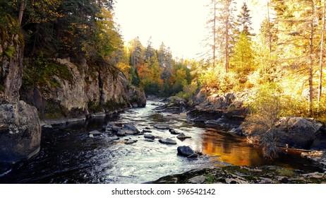 Autumn in Chicoutimi, Saguenay, Québec