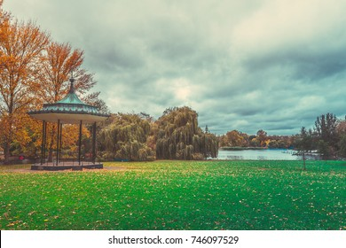Autumn Color of Regents Park in London