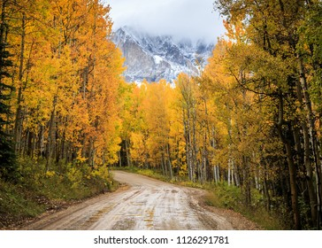 Autumn In Colorado - Colorado Rocky Mountain Scenic Beauty