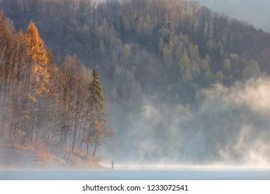 Autumn colors, Firiza lake