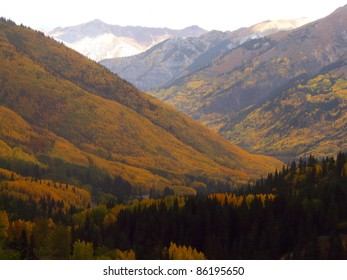 Autumn colors in the high altitudes of the Colorado Rocky Mountains