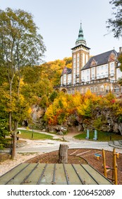 Autumn colors in Lillafured, Miskolc, Hungary