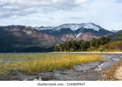 Autumn Colors in Mascardi lake - Patagonia, Argentina, near Bariloche