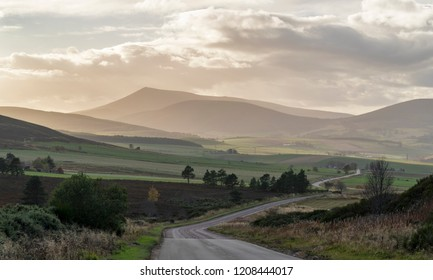 Autumn colours in Rothes Glen, Moray, Scotland
