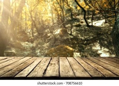 autumn desk space