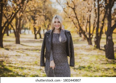 Autumn - fall season, casual style for plus size womens. Fashionable clothes and outfit elements