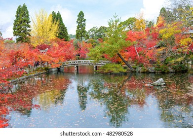 autumn foliage at Eikan-do Temple in Kyoto, Japan