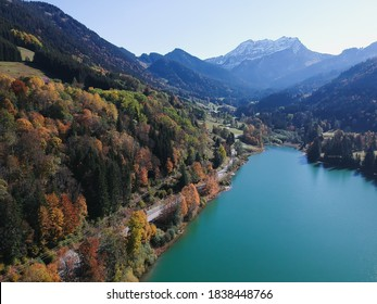 Autumn in France, Thonons les Bains. - Shutterstock ID 1838448766