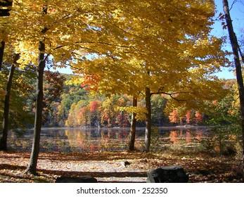 Autumn at Ghost Lake