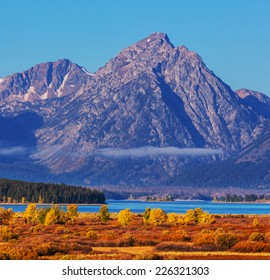 Autumn in Grand Teton National Park, Wyoming