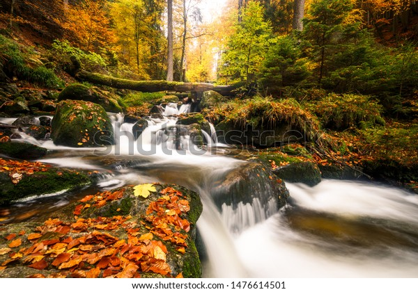 Autumn impressions in the Ilsetal, the Harz national Park