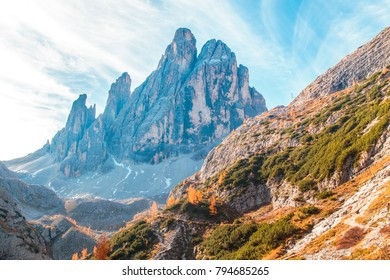 Autumn in the italian alps