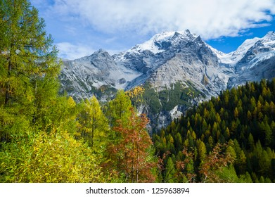 Autumn in the Italian mountains