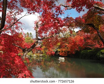 Autumn in Japan is so beautiful and charming. It is also attractive. Tourists can visit this wonderful place, temple in Kyoto, in October until December, depends on weather of each year. Fall in love