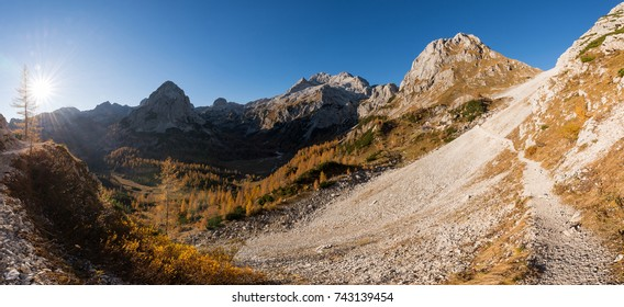 Autumn in the Julian Alps