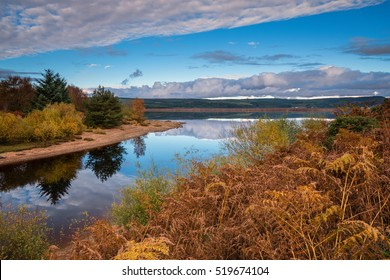 Autumn at Kielder Water / Kielder Water and Forest Park, Northumberland, has the largest man made lake in Northern Europe. The reservoir sits in the North Tyne Valley with the river flowing through it