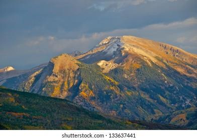 Autumn Landscape in Colorado