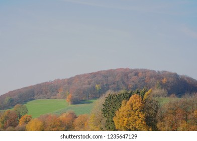 autumn landscape in germany